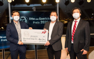 Ein Bild zeigt die Otto von Guericke-Preisträger 2020